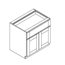 BASE CABINET--- ONE DRAWER,TWO DOORS