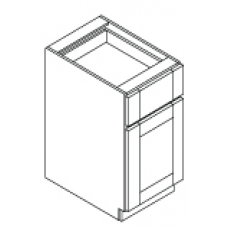 BASE CABINET--ONE DOOR ,ONE DRAWER